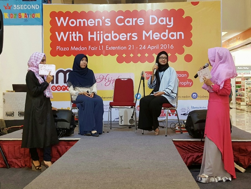Women`s Care Day with Hijabers Medan