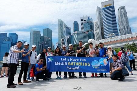 XL Media Gathering #MySumatera di Batam dan Singapura 2016