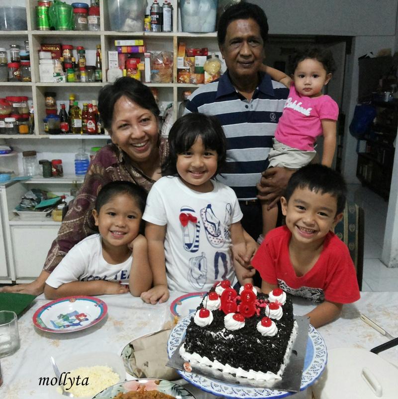 Ulang tahun papa ke 68