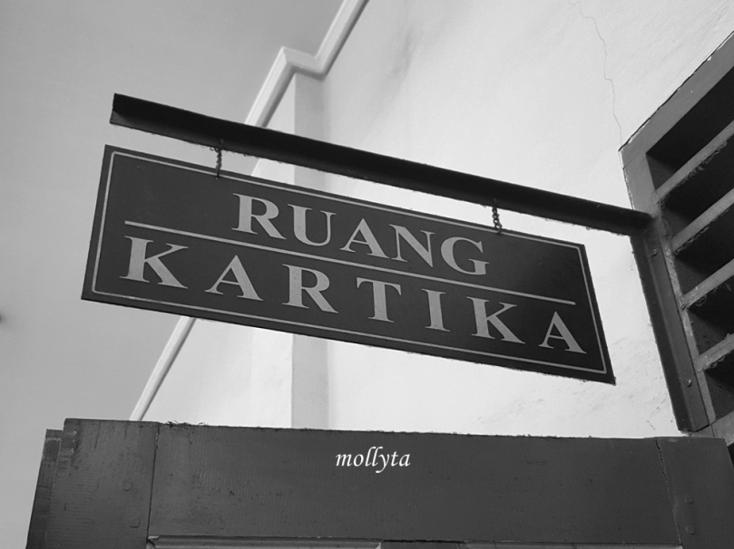 Ruang sidang Kartika di Pengadilan Negeri Medan