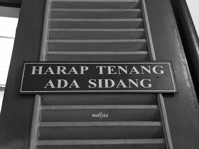 Ruang sidang Pengadilan Negeri Medan