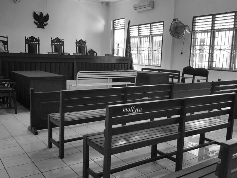 Ruang sidang Kartika Pengadilan Negeri Medan