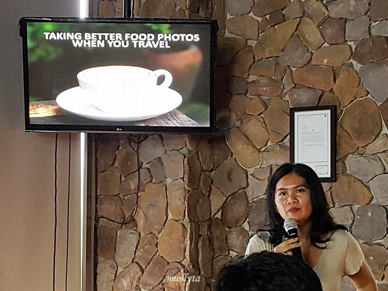 Marrysa Tunjung Sari di Food Photography Workshop