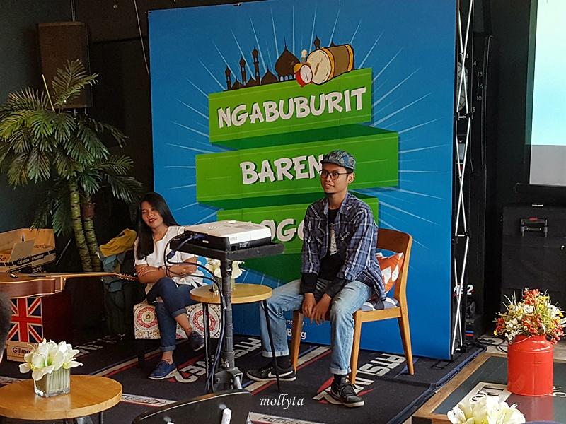 Mustika T.Yuliandri dan Aizeindra Yoga di Ngabuburit Bareng Blogger