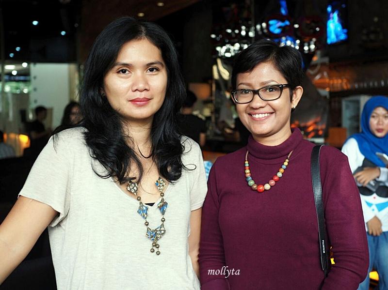 Marrysa Tunjung Sari di Food and Travel Photography Workshop Medan
