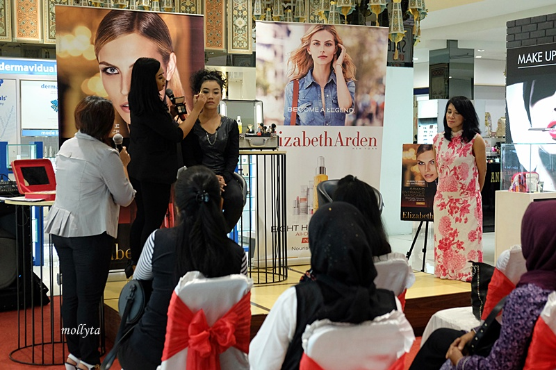 demo make up Elizabeth Arden