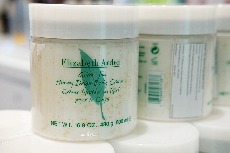 Green Tea Honey Drops Body Cream dari Elizabeth Arden