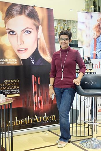 Acara peresmian counter Elizabeth Arden di Parkson Medan