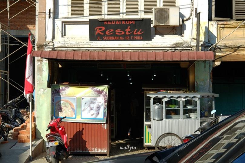 Kedai Kopi Restu di Tanjung Pura