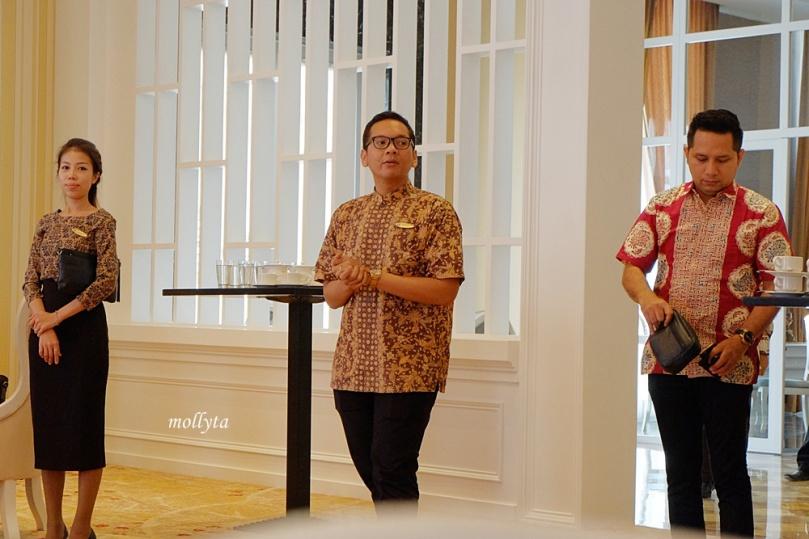 Herry Wahyudi sebagai Marcomm Manager Adimulia Hotel Medan