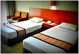 Kamar di Grand Hotel Lembang
