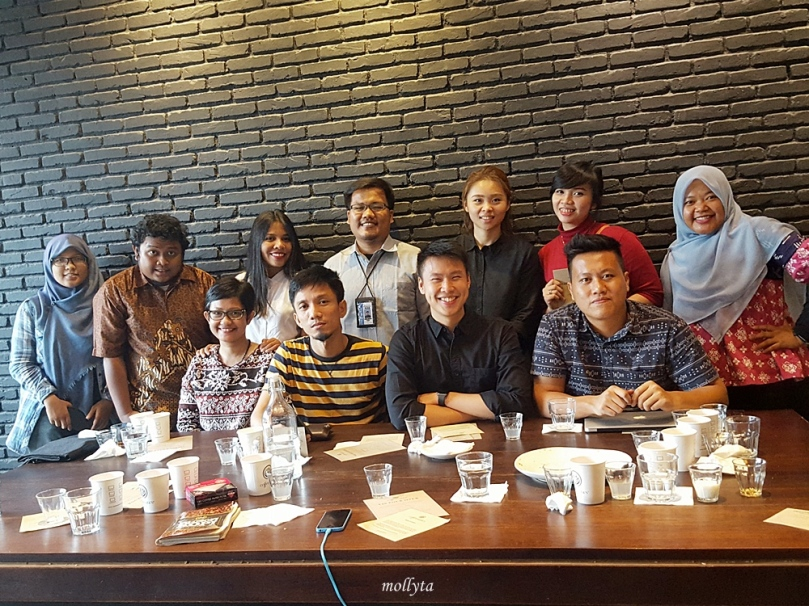 Para undangan Manual Brew Workshop di Coffeenatics