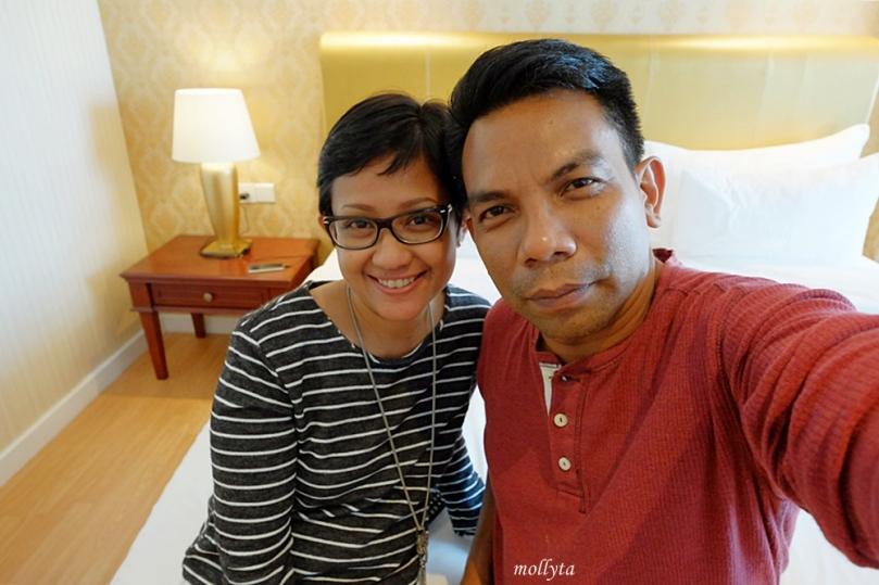 Kamar tipe Deluxe Adimulia Hotel Medan