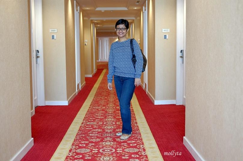 koridor Adimulia Hotel Medan
