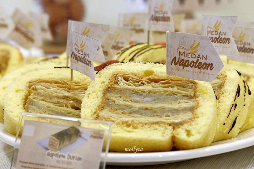 Napoleon cake rasa Durian