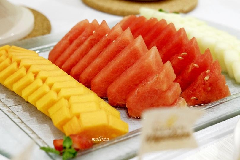 Potongan buah segar