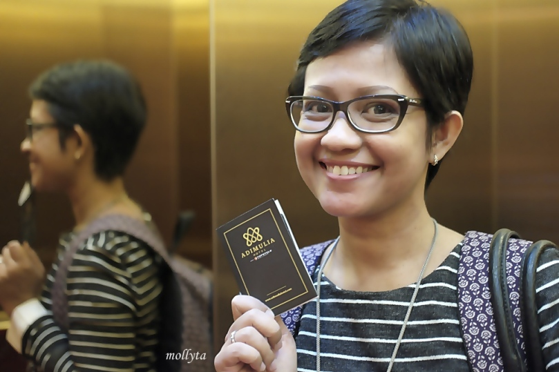 Keycard Adimulia Hotel Medan
