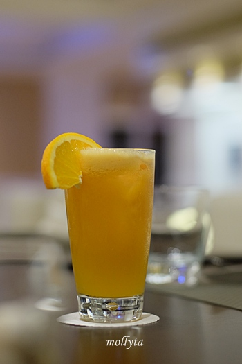Orange Juice di Cafe de Palmo