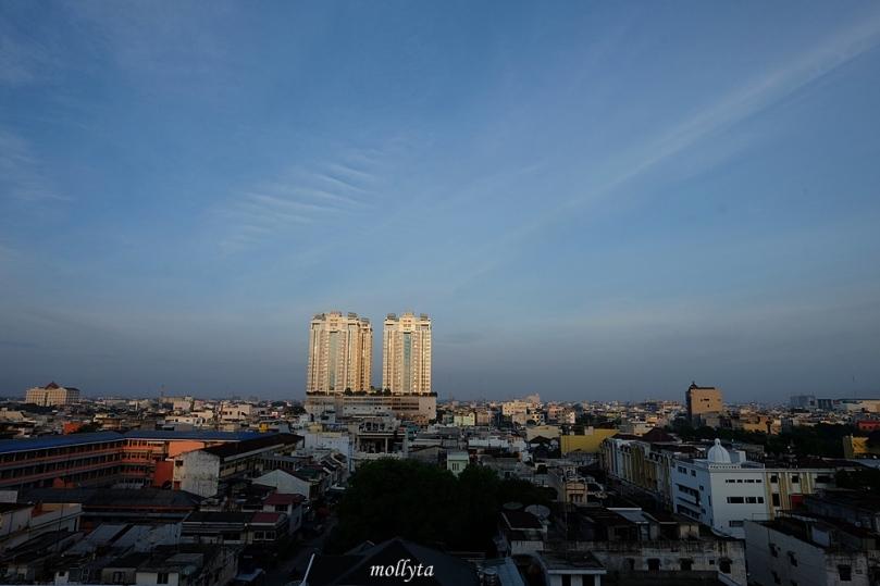 Pagi di Adimulia Hotel Medan