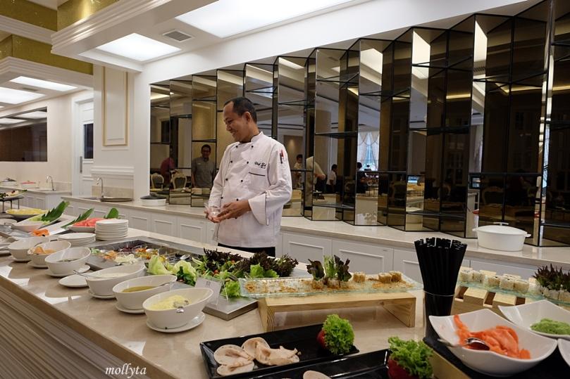 Chef di Cafe de Palmo