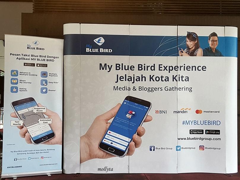 My Blue Bird Experience Jelajah Kota Kita