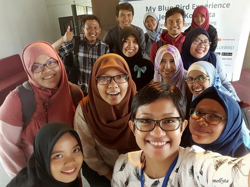 Wefie peserta My Blue Bird Experience Medan