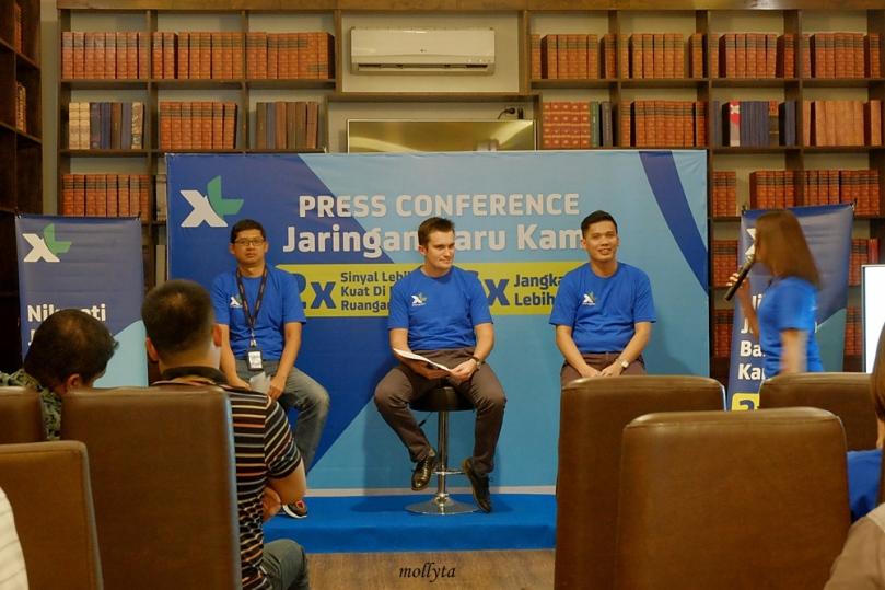 Press Conference Jaringan Baru XL