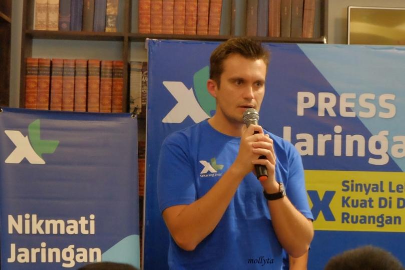 Kirill Mankovski selaku Chief Commerce Officer XL