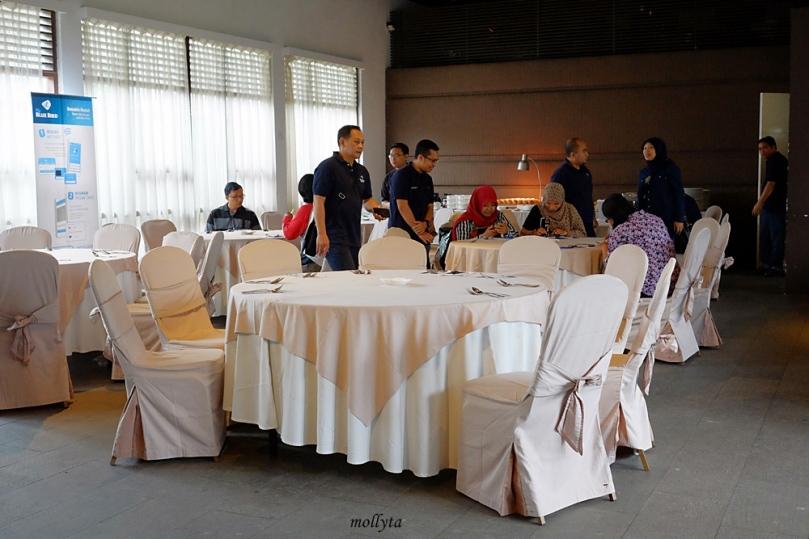 Launching pembayaran non tunai aplikasi My Blue Bird di Medan