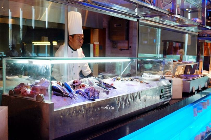 Hidangan laut di Swiss Cafe Medan