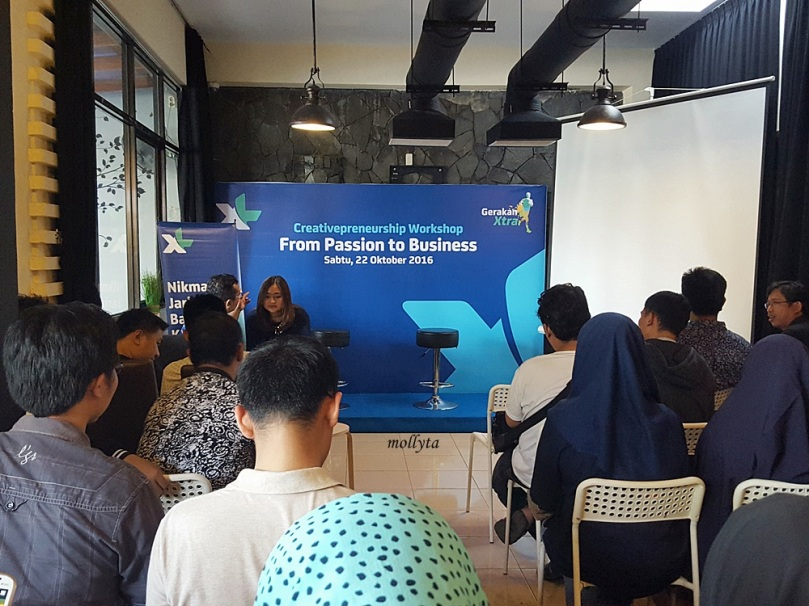 XL Creativepreneurship Workshop di Medan