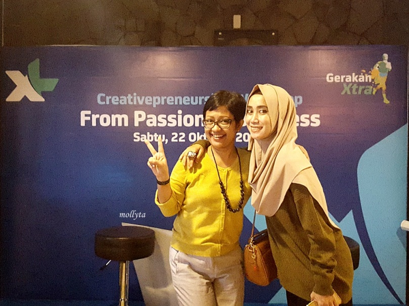 Bersama Icha Wakil Ketua Hijabers Medan