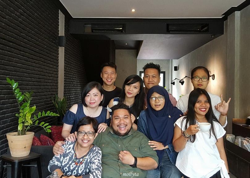 Para undangan #SundayBrunchClub di Coffeenatics Medan