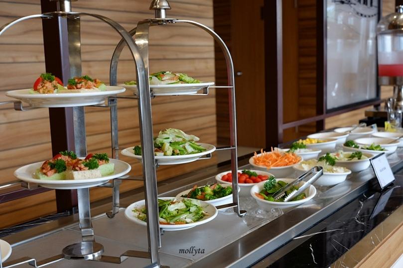 Breakfast di Hotel Grandhika Medan