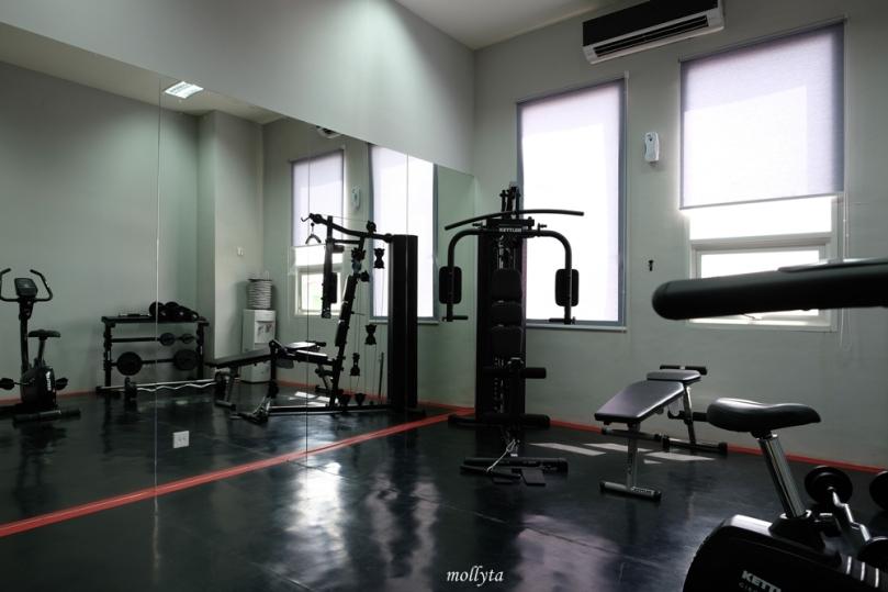 Fitness Center Hotel Grandhika Setiabudi Medan