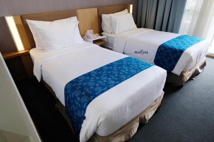 Deluxe Balcony Hotel Grandhika Setiabudi Medan