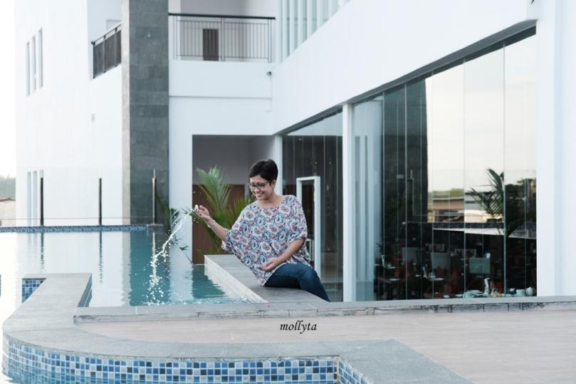 Swimming pool di Hotel Grandhika Setiabudi Medan