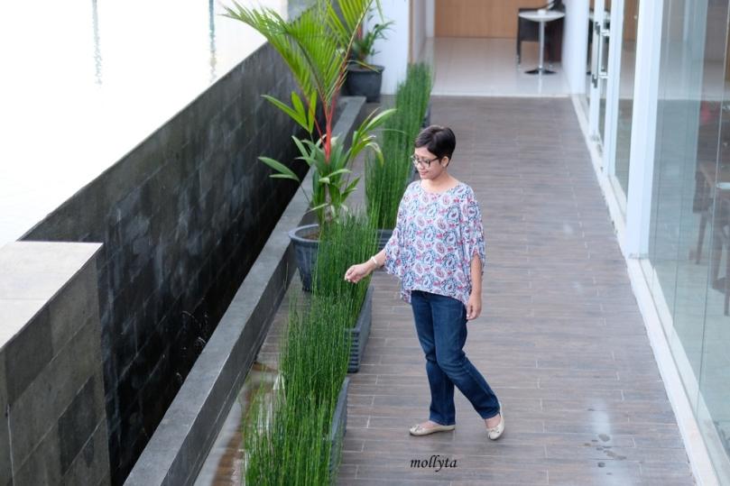 Pool area Hotel Grandhika Setiabudi Medan