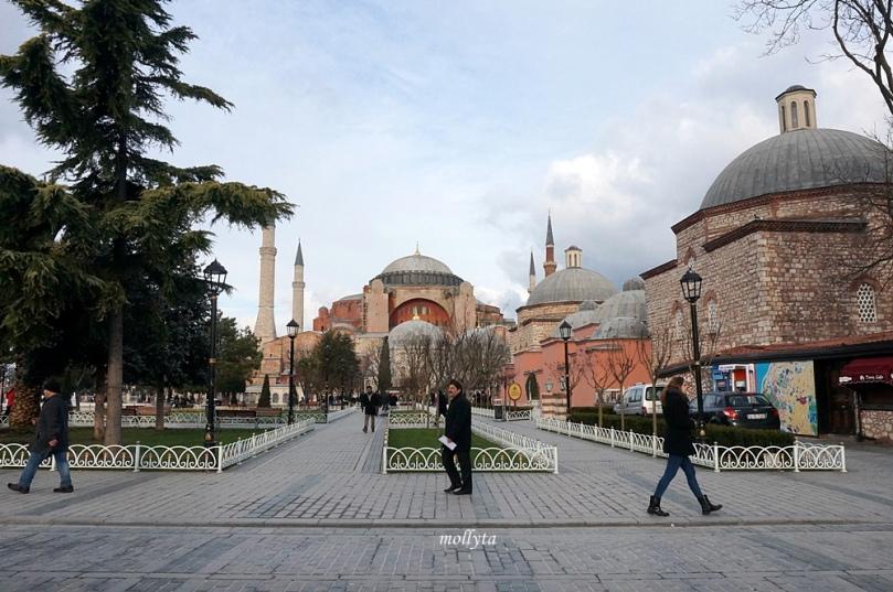 Hagia Sophia di Istanbul, Turki