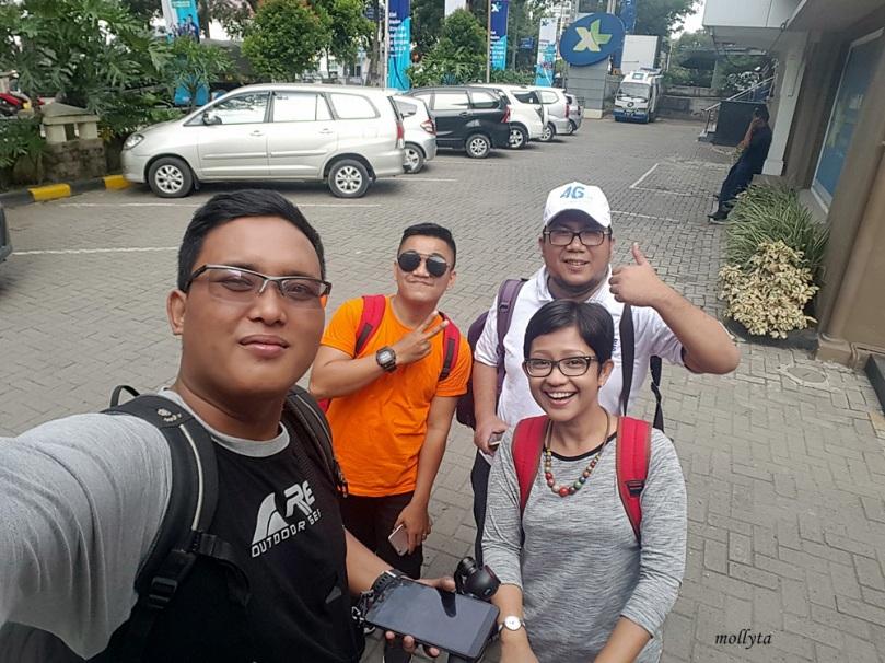 Bersiap berangkat ke Kuala Namu