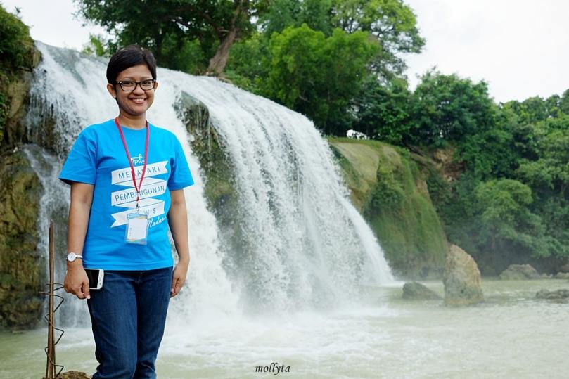 air terjun Toroan di kabupaten Sampang