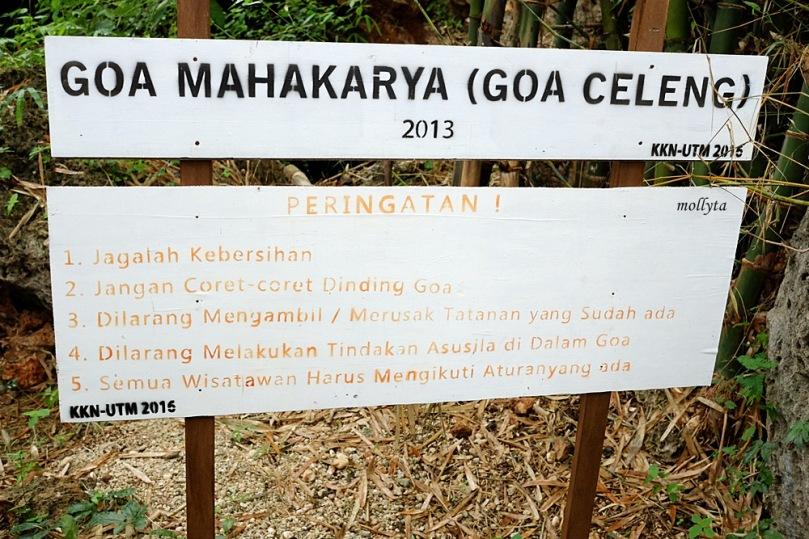 Papan Goa Mahakarya di Giliyang