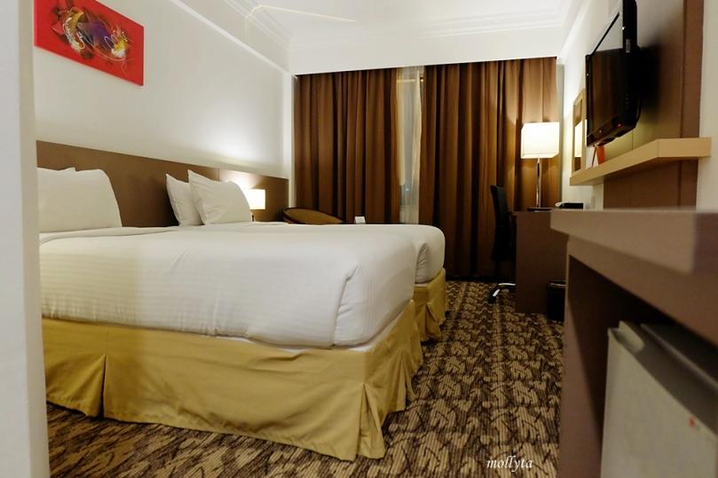 Kamar hotel Swiss Bel Inn di Batam