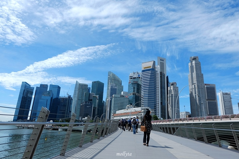 Jubilee Bridge Singapura