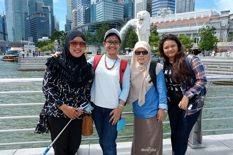 XL Media Gathering di Merlion Park Singapura