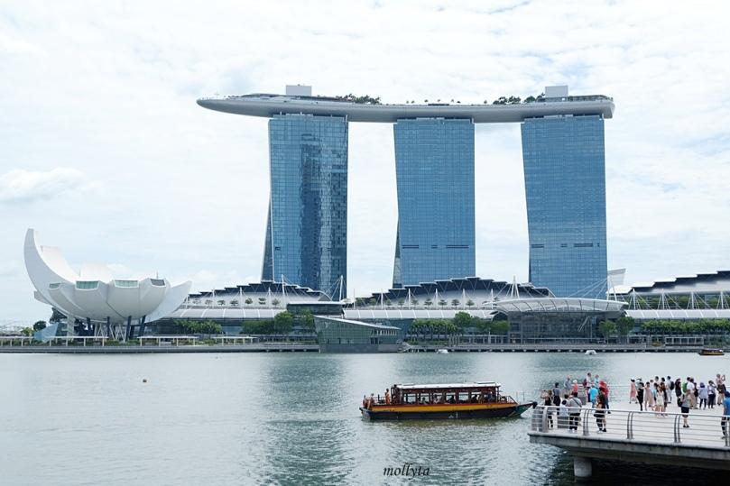 Marina Bay Hotel di Singapura