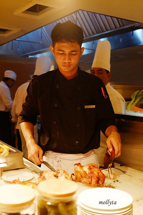 chef di Orchid Restaurant Medan