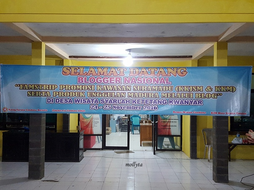 Menginap di Ketetang Kwanyar Madura