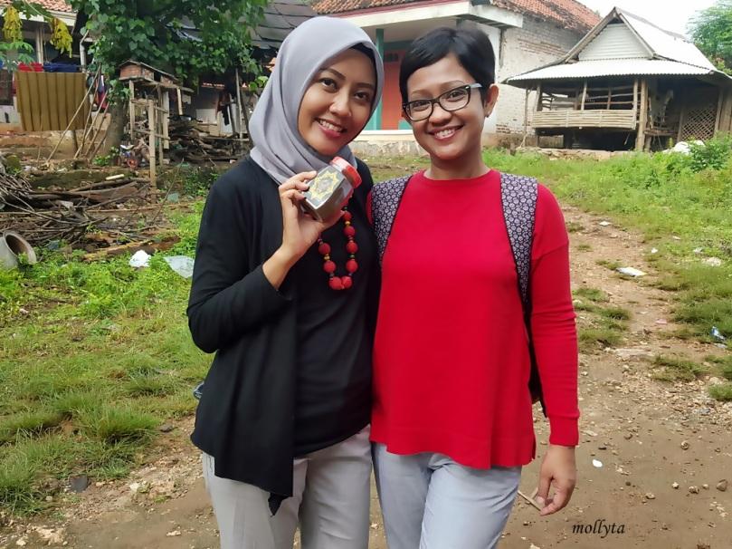 Bersama Mira Sahid di Ketetang Kwanyar Madura