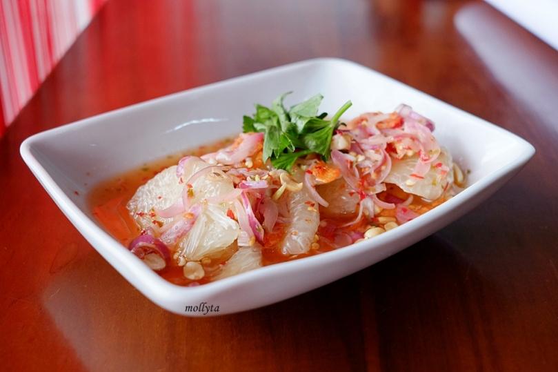 Masakan Thailand Yum Som Oo